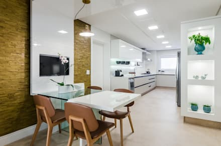 Cozinha: Cozinhas minimalistas por okha arquitetura e design