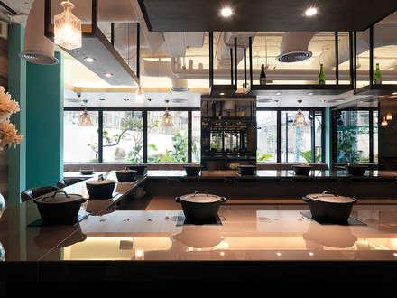 宗鍋物&金蓬萊璿會所:  餐廳 by 空間制作所
