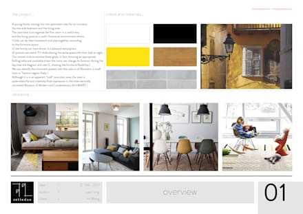 General overview: modern Living room by settedue
