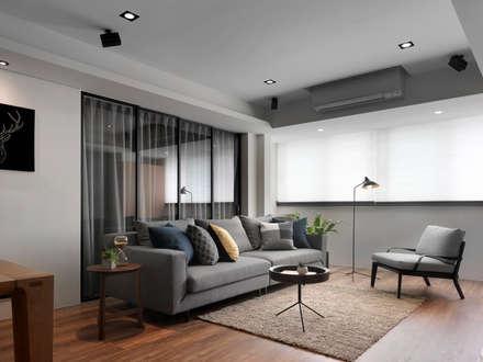 客廳:  客廳 by 御見設計企業有限公司