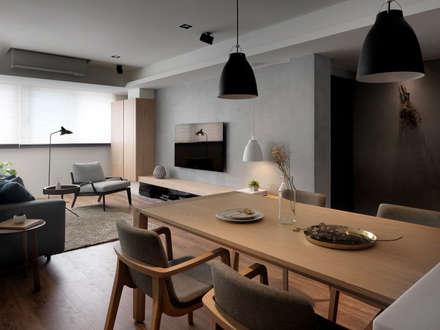 modern Dining room by 御見設計企業有限公司