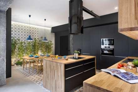 industrial Kitchen by Egue y Seta