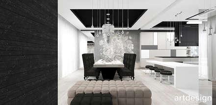Phòng ăn by ARTDESIGN architektura wnętrz