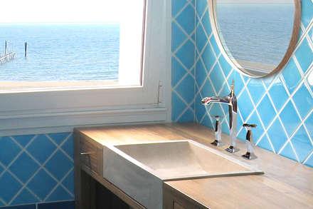 Piastrelle bagno blu mare cool with piastrelle bagno blu mare