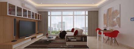 The Windsor:  Ruang Keluarga by INTERIORES - Interior Consultant & Build