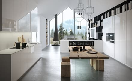 Cucine moderne: Cucina in stile in stile Moderno di Abita design srl / Paolo Vindigni