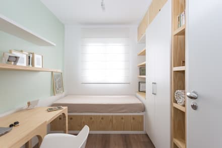 ห้องนอน by ARQ.STHÊ.DEZ