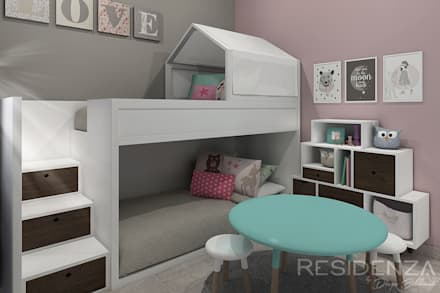 modern Nursery/kid's room by Residenza by Diego Bibbiani