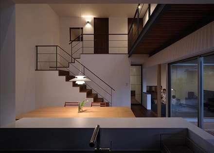 福重の家: 柳瀬真澄建築設計工房 Masumi Yanase Architect Officeが手掛けたキッチンです。