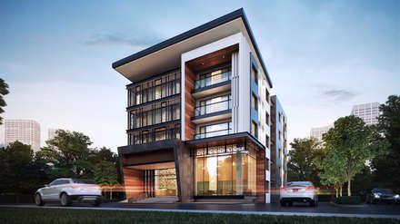 ออกแบบอพาร์ทเมนท์:  โรงแรม by บริษัท 999 สตาร์ จำกัด