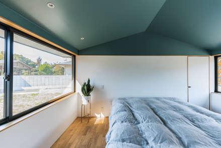 ウィークリンク: Smart Running一級建築士事務所が手掛けた寝室です。
