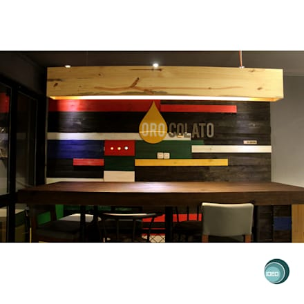 Oro Colato - Gelato and Bar:  Dinding by IDEO DESIGNWORK