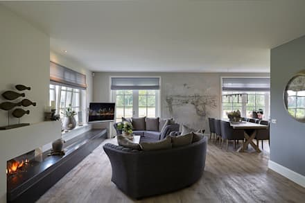 country Living room by Brand BBA I BBA Architecten