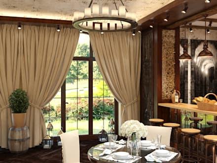 : eclectic Dining room by Nataliia Sapkevych- Homify RU