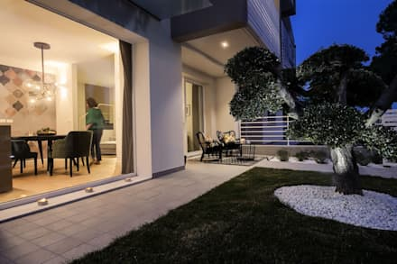 Giardino moderno idee ispirazioni homify for Immagini di giardini moderni