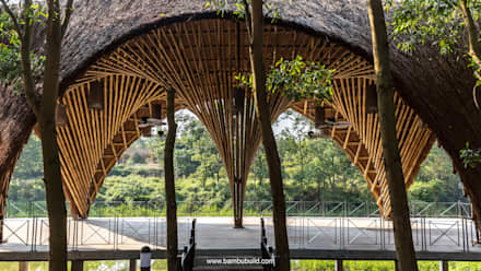 Exhibition centres by BAMBU