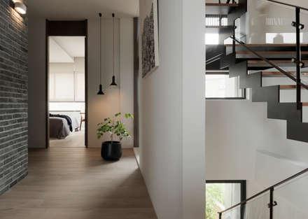 展Zhan:  牆壁與地板 by 禾築國際設計Herzu  Interior Design
