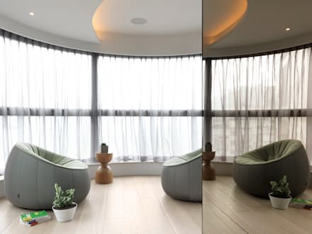 JJ HOUSE:  溫室 by 禾築國際設計Herzu  Interior Design