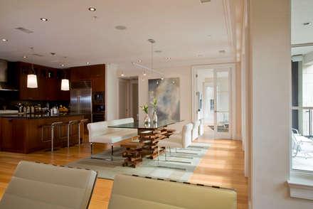 Kalorama Flat: modern Dining room by FORMA Design Inc.