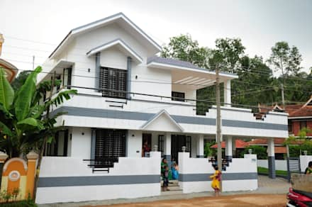 kerala projects: asian Houses by Royal Designs Architects
