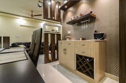 Two BHK - Whitefield: classic Dining room by Wenzelsmith Interior Design Pvt Ltd
