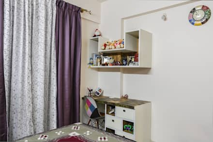 Two BHK - Whitefield: classic Study/office by Wenzelsmith Interior Design Pvt Ltd