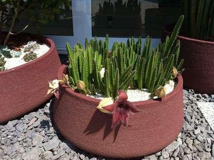 Jardines de piedra de estilo  por Verdeperto Paisagismo