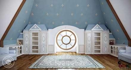 Cuartos para bebés de estilo  por OBIC Design