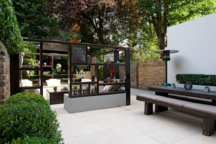 Modern Garden Design In West London: Modern Garden By Earth Designs