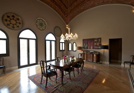 Mediterranean Style Dining Rooms Homify