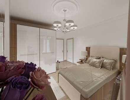 Altuncu İç Mimari Dekorasyon – Yatak odası örnek daire: modern tarz Yemek Odası