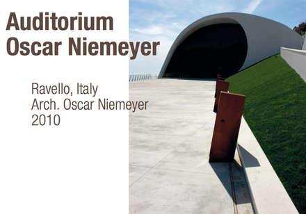 Pavimento NUVOLATO - Auditorium Oscar Niemeyer: Salones de eventos de estilo  de Fermox Solutions