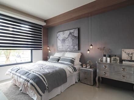 rustic Bedroom by KD Panels