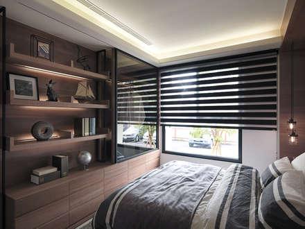 [HOME] Ciid Design - Haihua Model House: KD Panels의  침실