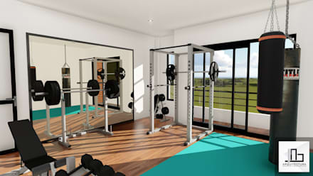 Ruang Fitness by IAD Arqutiectura