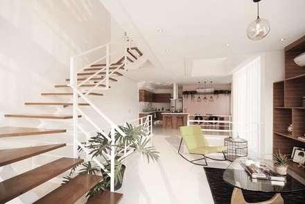 Elena:  Corridor and hallway by Marilen Styles