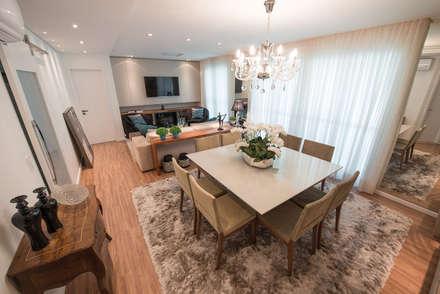 غرفة السفرة تنفيذ Factus Arquitetura Planejamento Interiores