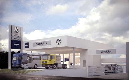 Car Dealerships by Traktor Arquitectura