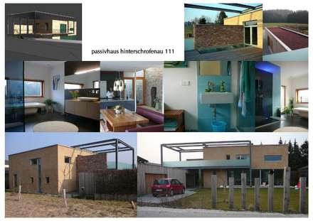 Wohnhäuser:  Einfamilienhaus von eckstein_architektur
