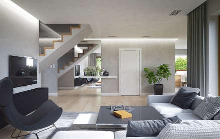 Projekt domu HomeKONCEPT-09: styl , w kategorii Korytarz, przedpokój i schody zaprojektowany przez HomeKONCEPT | Projekty Domów Nowoczesnych