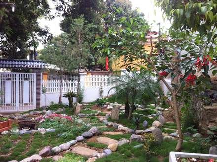 Cần tư vấn không gian sân vườn 220m2 ở Sơn La:  Vườn by Linh Pham - homify