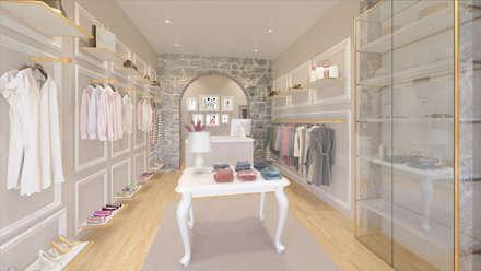 Loja de roupa, Braga: Lojas e espaços comerciais  por Mia Arquitetos