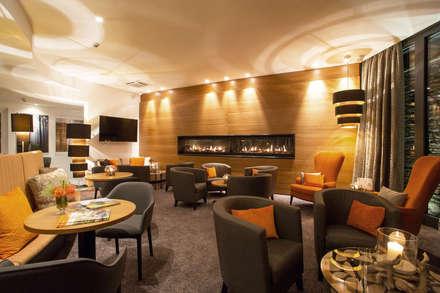 Hotellobby Astenkrone:  Hotels von bp Innenarchitektur Petra Blome