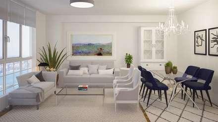 Salas mediterr neas ideas im genes y decoraci n homify for Sala de estar estilo mediterraneo