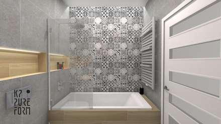 scandinavian Bathroom by Katarzyna Piotrowiak Pure Form