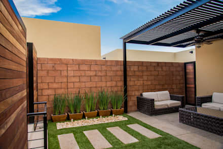 Garden design ideas pictures homify for Jardines chicos decoracion