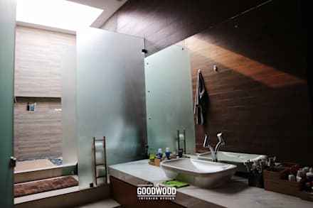 Rumah A+S:  Kamar Mandi by The GoodWood Interior Design