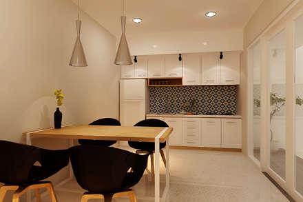 Rumah Tinggal Bpk. Arif:  Dapur by samma design