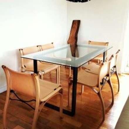 Remodelación Departamento en Alonso de Cordova, RM: Comedores de estilo moderno por GY3 Arquitectos. spa
