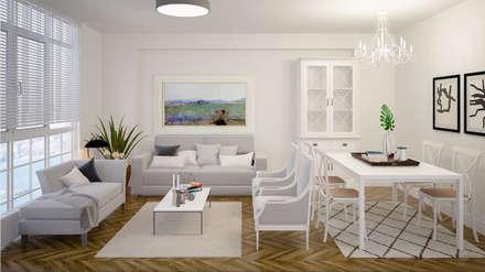 salon salas de estilo colonial por deko